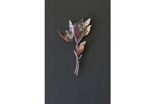Pin. SS, copper, bronze, Sonoran Sunrise.
